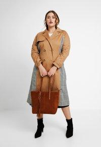 Anna Field - LEATHER - Shopper - cognac - 1