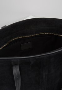 Anna Field - LEATHER - Tote bag - black - 4