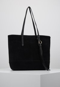 Anna Field - LEATHER - Tote bag - black - 0