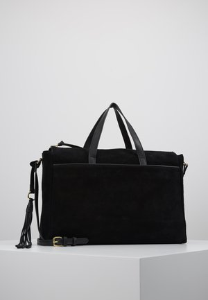 LEATHER - Sac ordinateur - black