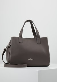 Anna Field - Across body bag - dark gray - 0