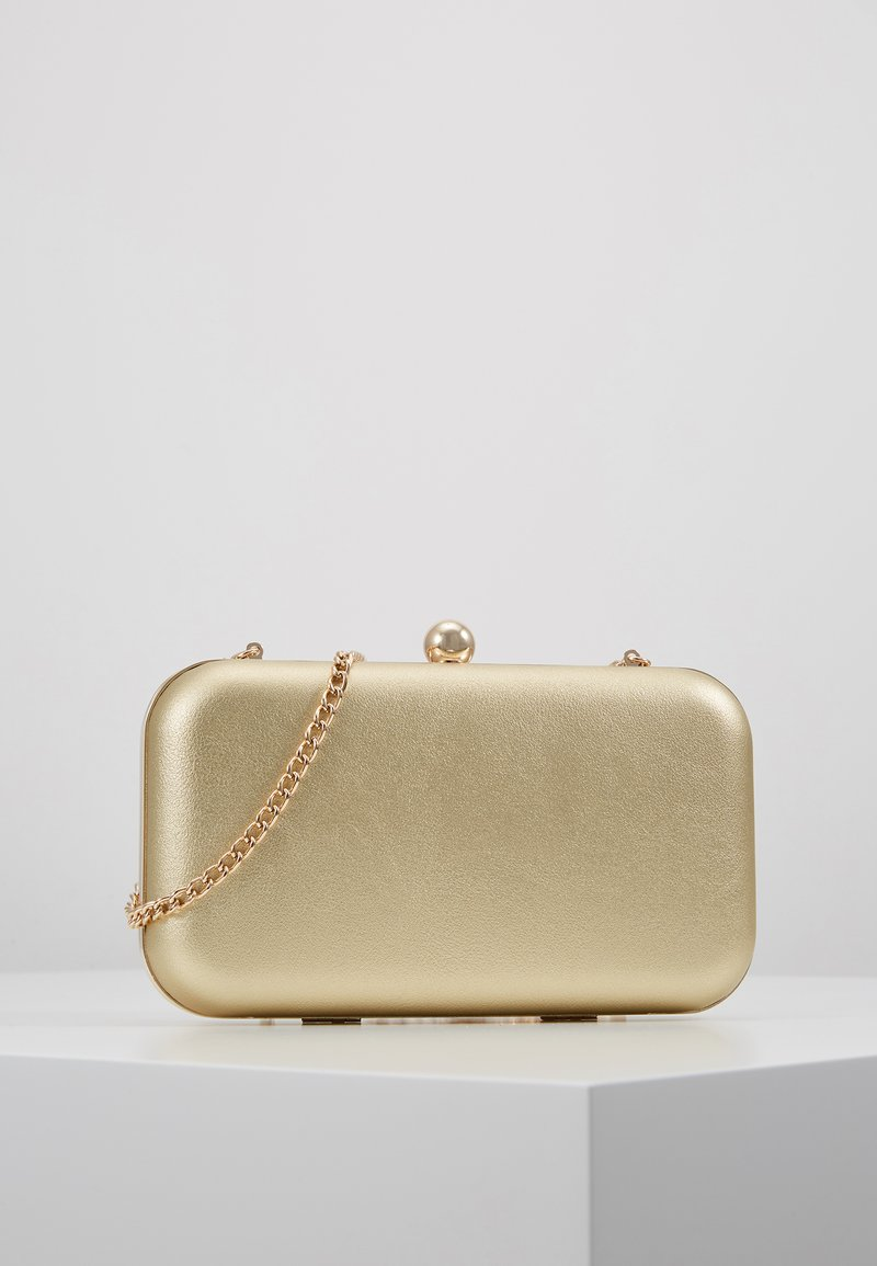 Anna Field - Clutch -  gold-coloured
