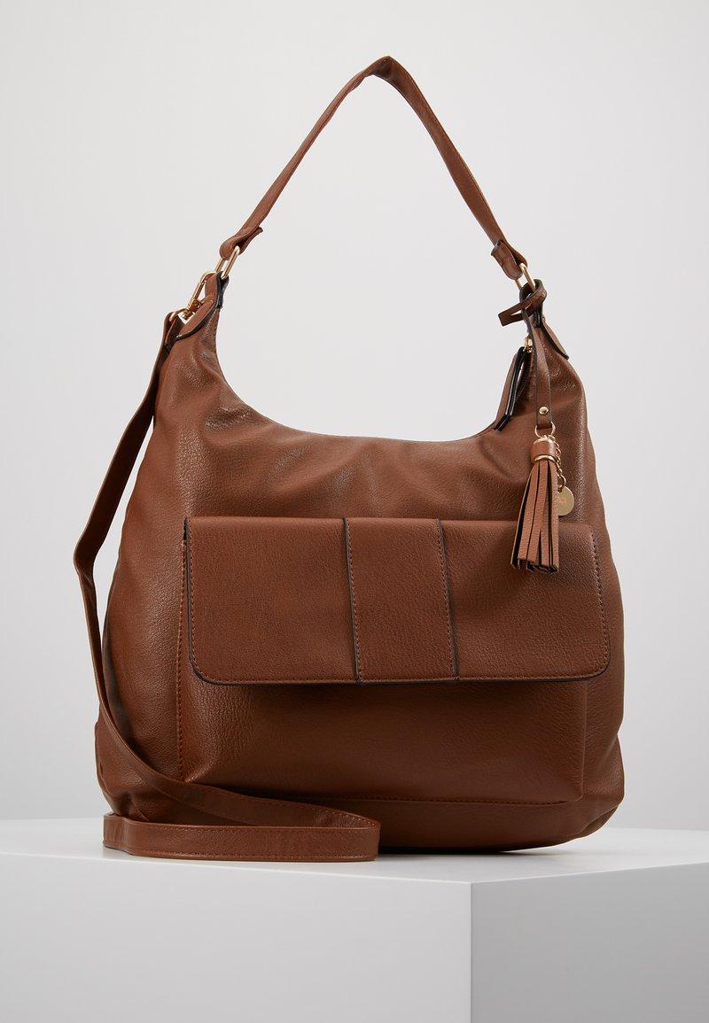 Anna Field - Håndtasker - cognac