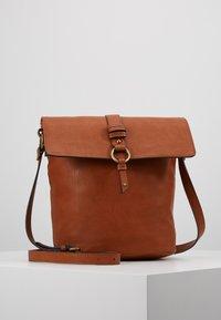Anna Field - Across body bag - cognac - 0