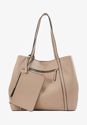 SHOPPING BAG / POUCH SET - Tote bag - beige