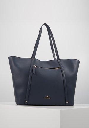 SHOPPING BAG / POUCH SET - Bolso shopping - dark blue