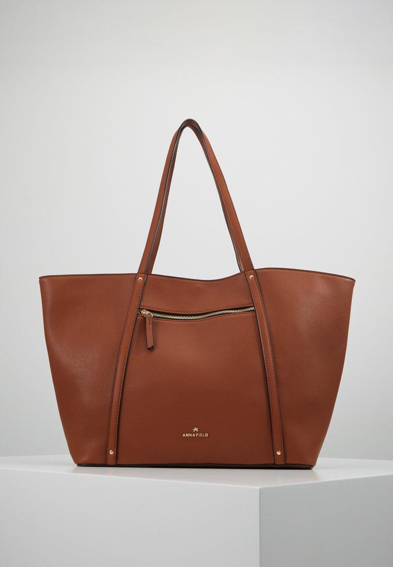 Anna Field - SHOPPING BAG / POUCH SET - Shopper - cognac