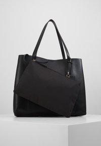 Anna Field - SHOPPING BAG / POUCH SET - Velká kabelka - black - 6