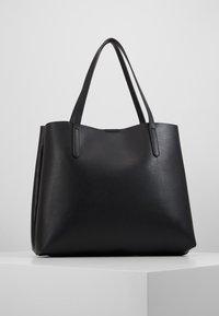 Anna Field - SHOPPING BAG / POUCH SET - Velká kabelka - black - 3