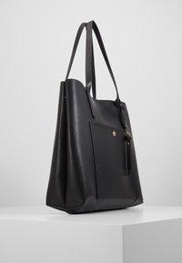 Anna Field - SHOPPING BAG / POUCH SET - Velká kabelka - black - 4