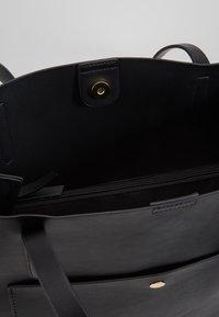 Anna Field - SHOPPING BAG / POUCH SET - Velká kabelka - black - 5