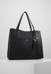 Anna Field - SHOPPING BAG / POUCH SET - Tote bag - black - 0