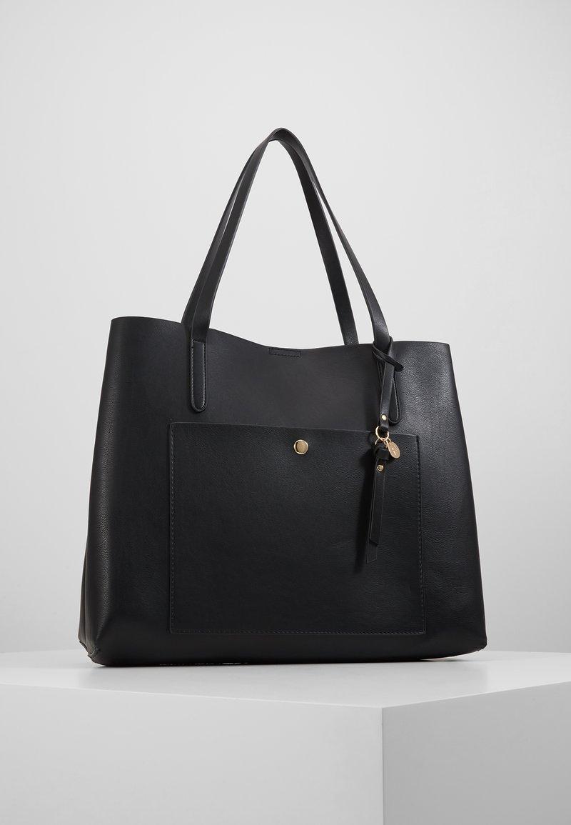 Anna Field - SHOPPING BAG / POUCH SET - Velká kabelka - black