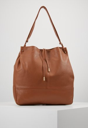 LEATHER - Handtas - cognac