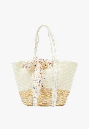 Bolso shopping - beige