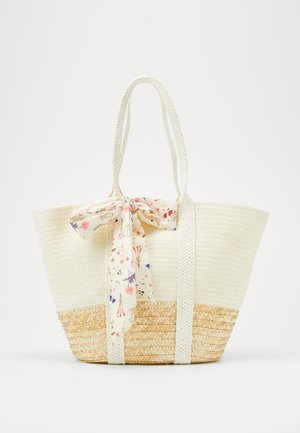 Shopping bags - beige