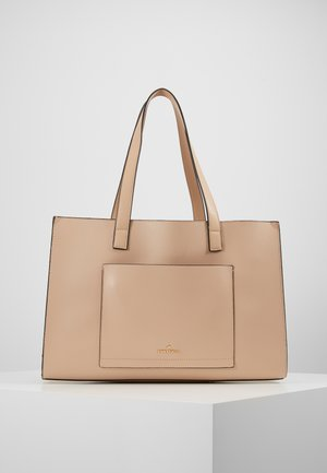 Shopping bags - nude