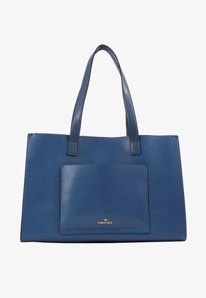 Shopping bag - dark blue