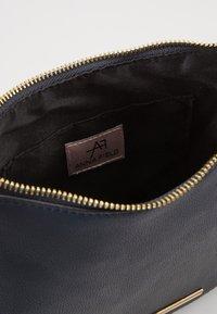 Anna Field - Across body bag - blue - 3