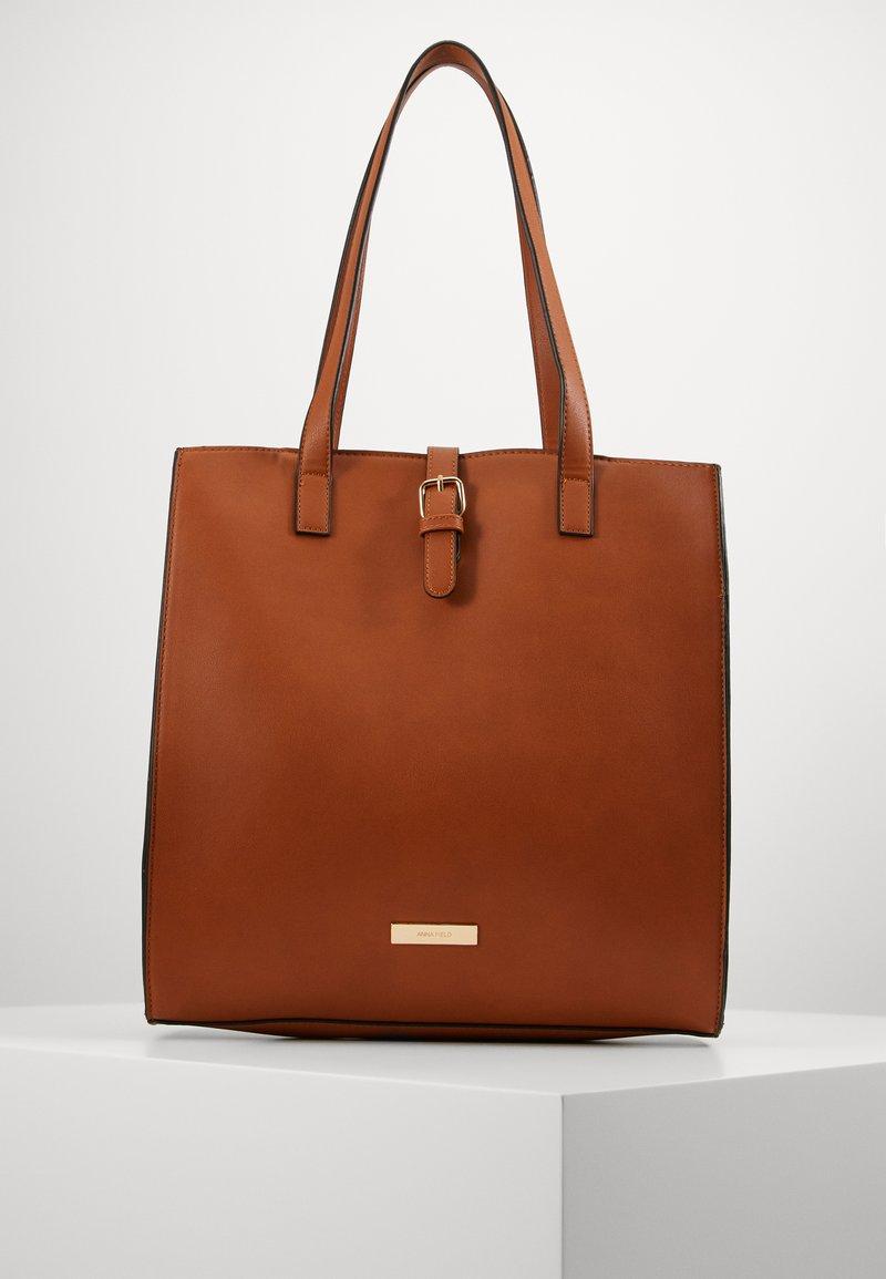 Anna Field - Shopping bag -  cognac