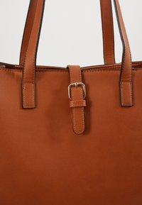 Anna Field - Shopping bag -  cognac - 6