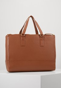 Anna Field - LEATHER - Taška na laptop - cognac