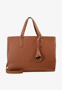 Anna Field - LEATHER - Taška na laptop - cognac - 1