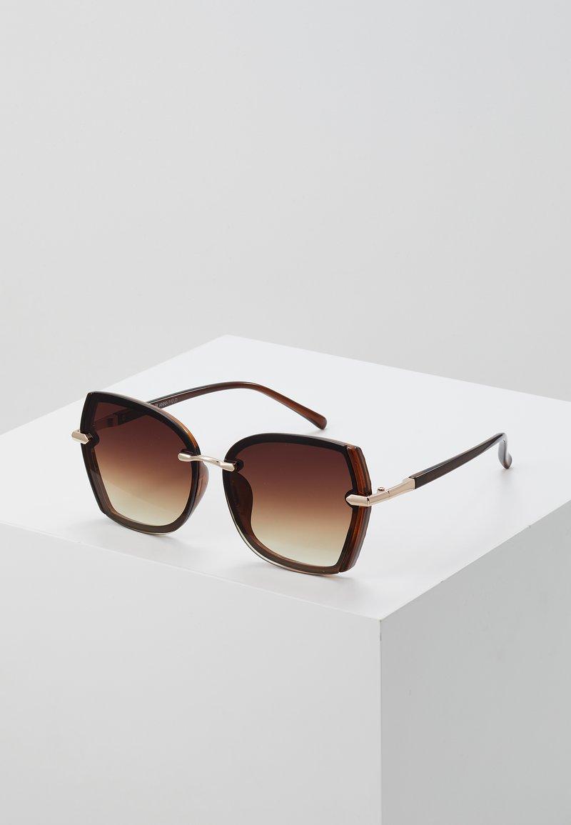 Anna Field - Solglasögon - brown