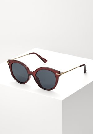 Sonnenbrille - bordeaux