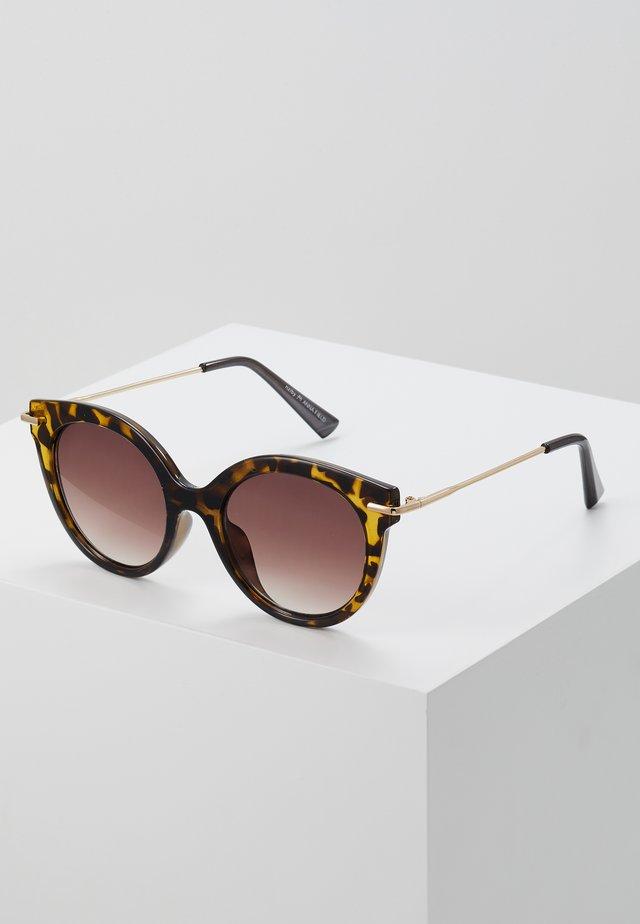 Gafas de sol - mottled brown