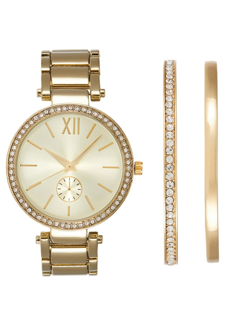 Anna Field - SET - Watch - gold-coloured