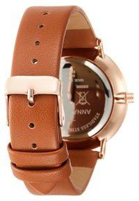 Anna Field - Watch - cognac - 2