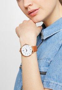 Anna Field - Watch - cognac - 0
