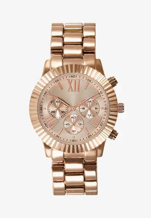 Chronograph - rose gold-coloured