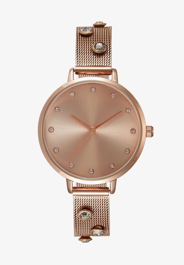 Reloj - rose gold-coloured