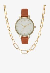 Anna Field - SET - Horloge - brown/gold - 1