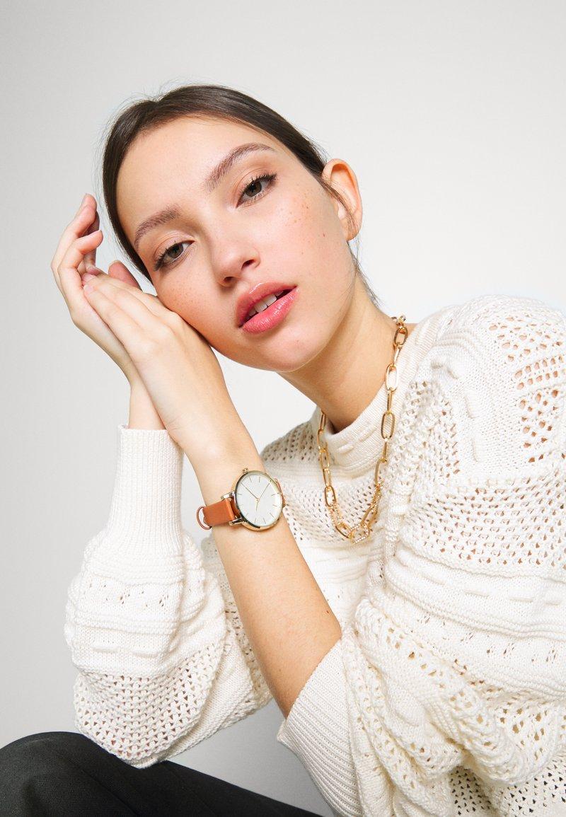 Anna Field - SET - Horloge - brown/gold