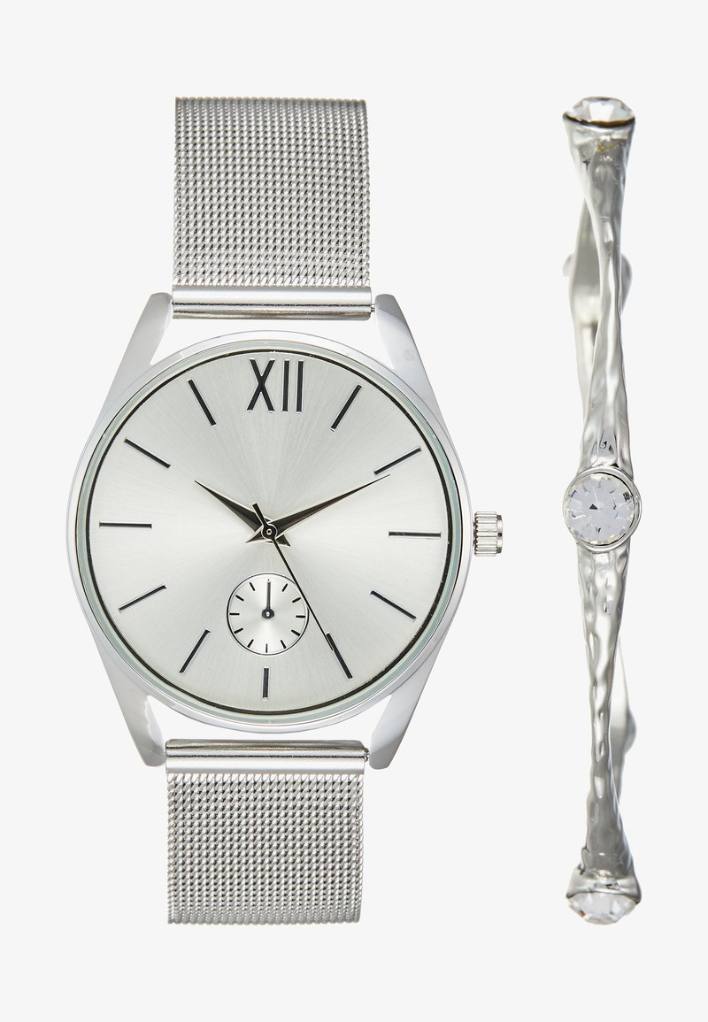 Anna Field - SET - Horloge - silver-coloured