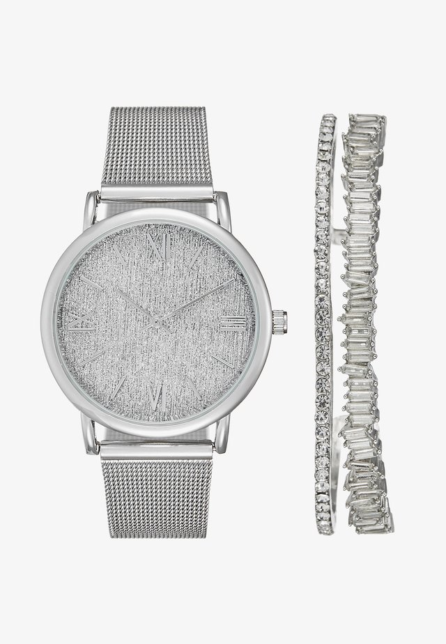 SET - Montre - silver
