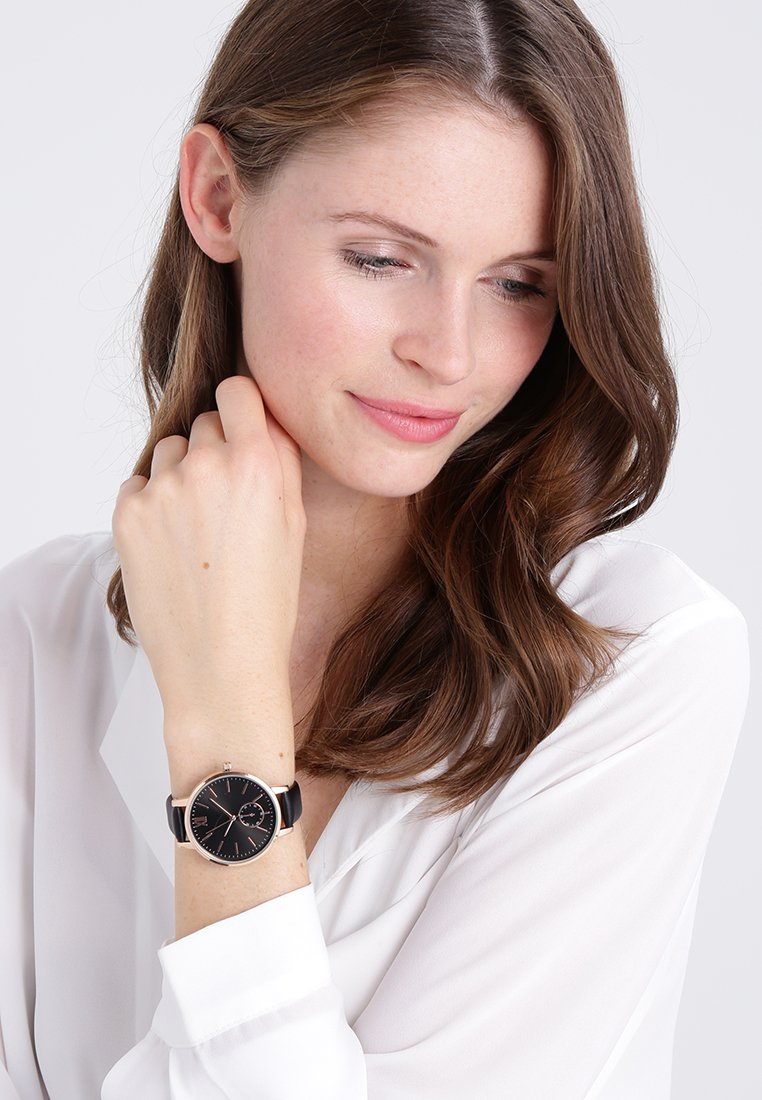 Anna Field - Uhr - black
