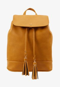 Anna Field - Rucksack - dark yellow - 5