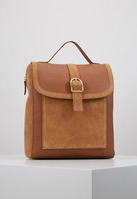 Anna Field - LEATHER - Reppu - cognac - 0