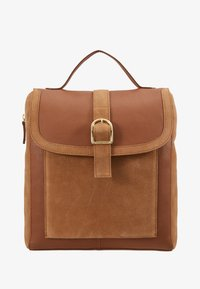 Anna Field - LEATHER - Reppu - cognac - 5