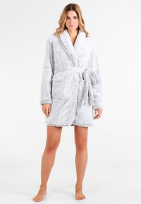 Anna Field - Dressing gown - grey - 1