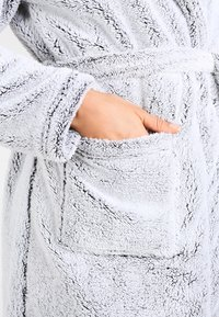 Anna Field - Dressing gown - grey - 4