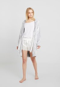 Anna Field - Dressing gown - light grey - 1