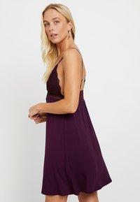 Anna Field - Nachthemd - dark purple - 2