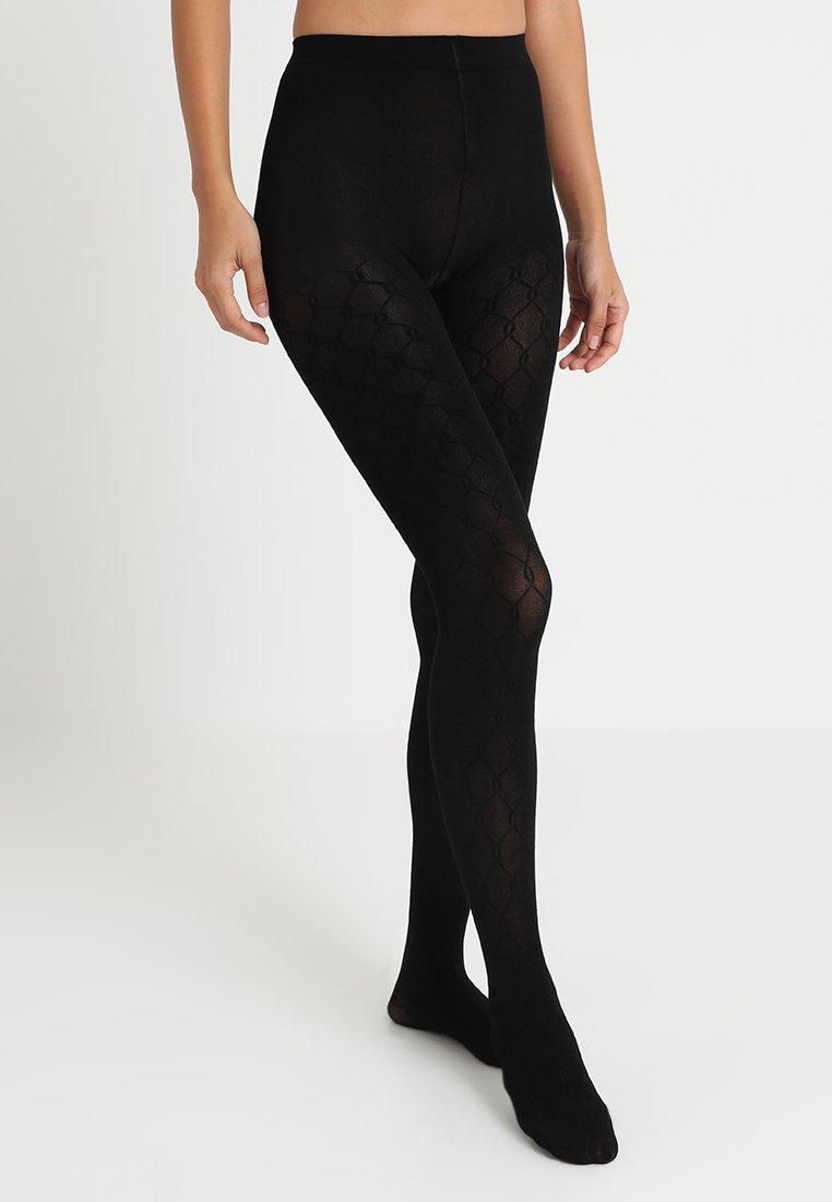 Anna Field - 2 PACK - Collants - black