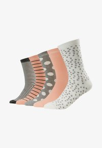 Anna Field - 5 PACK - Sokker - pink/grey/white