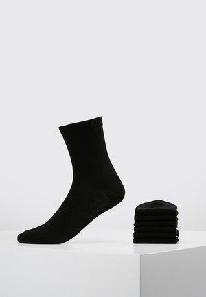 7 PACK - Calcetines - black
